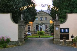 Ednam House Hotel in Kelso.
